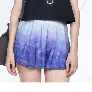 Brand new Fayth Gaia Short in Deep Purple Size S