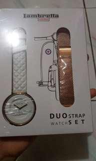 Jam Tangan Lambretta Watches Duo Strap Watch Set