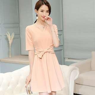 Brand new peach dress