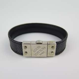 Louis Vuitton Check It Damier Graphite Reversible Bracelet