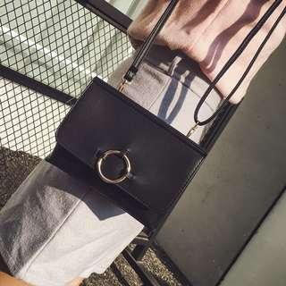 🚚 Brand new classic black or brown sling bag