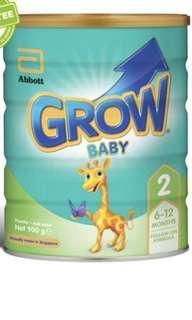 🚚 Abbott Grow 2 formula milk