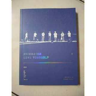 BTS WORLD TOUR SEOUL DVD PHOTOBOOK
