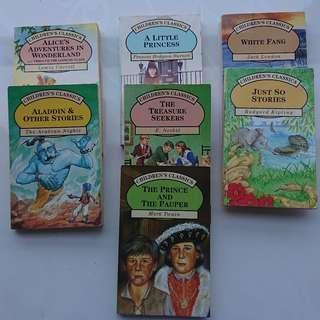 Set of 7 children's classics
