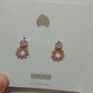 全新 韓國耳環