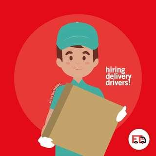 Hiring delivery drivers