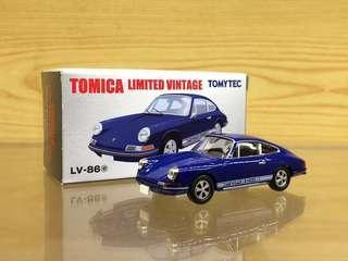 Tomica Limited Vintage Neo Tomytec 1/64 LV-86e Porsche 911s