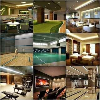 RE-SALE FIRST HIGH END SPORTS CONDO IN THE METRO NEAR RFO ALONG EDSA