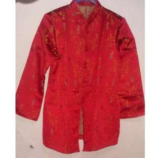 Red Chinese Top