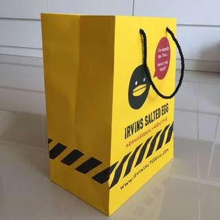 🚚 Paper bag - Irvin's Salted Egg