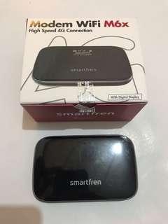 Modem Wifi Smartfren 4G M6x