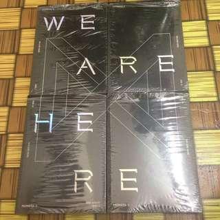 MONSTA X WE ARE HERE ALBUM