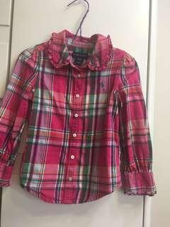 Polo 女童襯衫