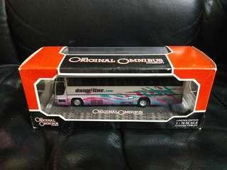 Corgi Om43307 Plaxton Excalibur Dunn Line 巴士模型