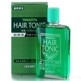日本🇯🇵柳屋 髮根營養液 240ml 全新(范冰冰用後也推薦!) Yanagiya Hair Tonic Brand new