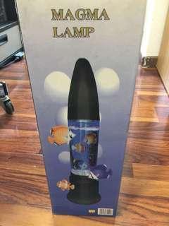 Fish magma lamp