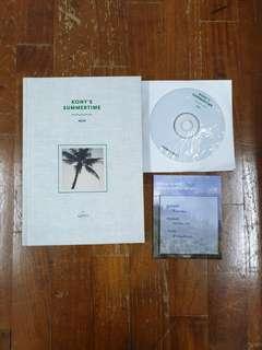 🌸 flash sale 🌸 iKON Kony's Summertime Photobook + DVD