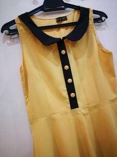 One piece slim dress