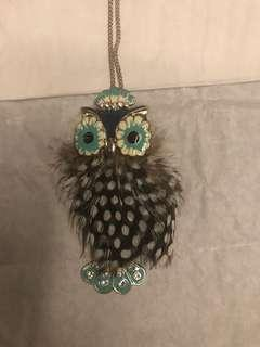 🚚 Owl Necklace