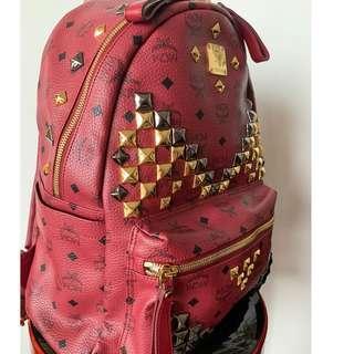 MCM Leather bag pack (large)