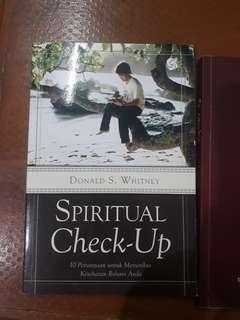 Buku Spiritual Check Up - Donald S. Whitney (books)