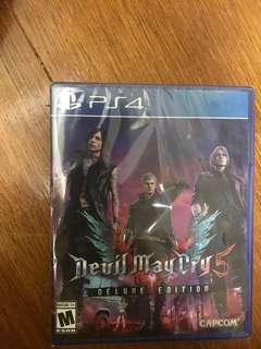 🚚 PS4. 惡魔獵人5。 (美版) 限定版。有DLC 序號