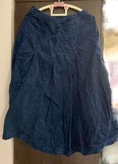 🈹Mercibeaucoup Navy color skirt