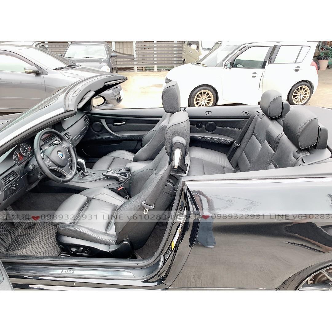 2008年BMW335cic ..... 快來圓你的敞篷夢吧❤️
