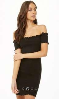 Off Shoulder Bodycon Dress
