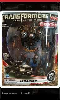 Hasbro MISB Ironhide Transformer (Leader Class)