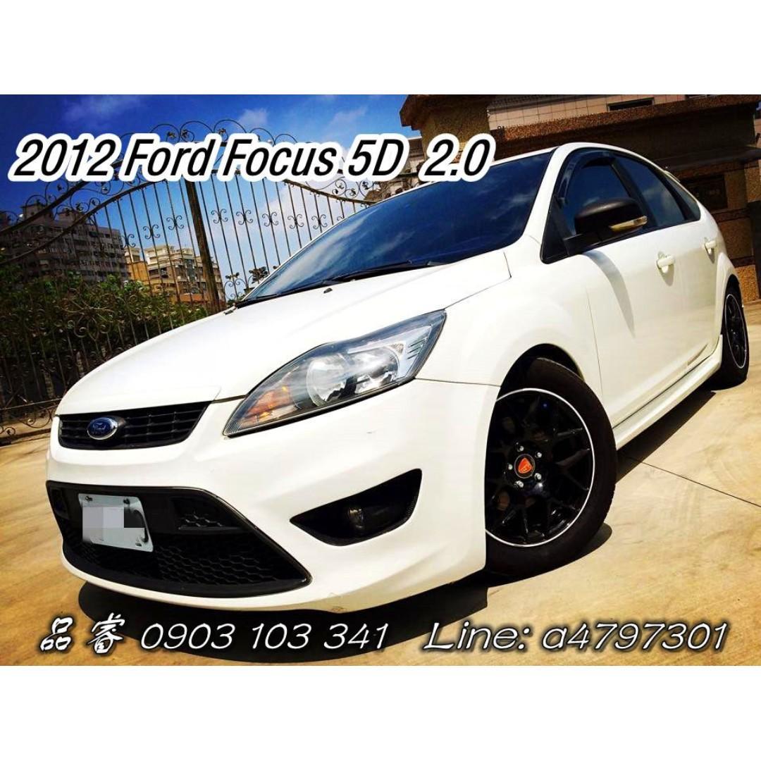 2012 Ford Focus 5D 2.0