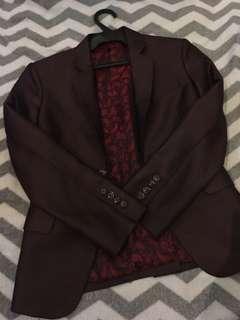 KIDS Maroon Suit