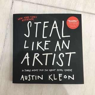 Steal Like An Artist - Austin Kleon (Brand New) (Original/Paperback) (Buku/Book)