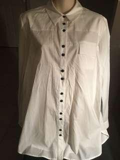VIKTORIA & WOODS white shirt RRP $260