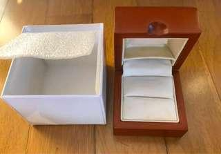 🚚 Empty jewellery box (solid wood)