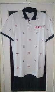 Original  polo-shirt Guess full print bordir