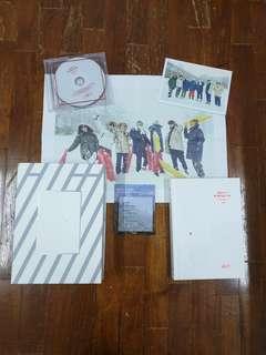 🌸 flash sale 🌸 iKON Kony's Wintertime Photobook + DVD