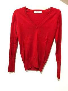 Basic Sweater (Red)