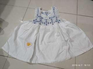 Dress bayi anak perempuan santai