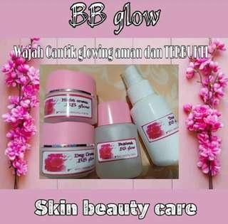 Cream Bb Glow,dijamin glowing,free ongkir dan gratis masker wajah,yu beli.