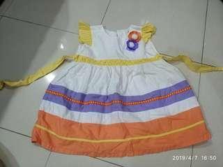 Dress Baby anak perempuan pesta santai