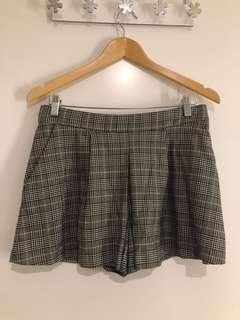 Zara Woman Checked Skort (M)