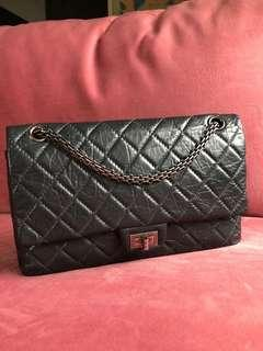 Chanel Reissue 226 Black With RHW.