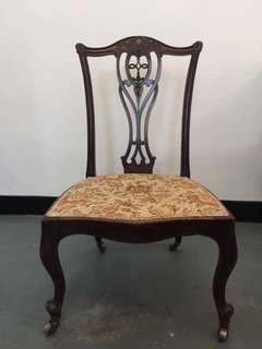 Antique Victorian Nursing Chair (1837-1910) Imported from UK