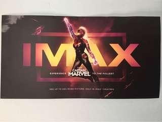 "Original ""Captain Marvel"" IMAX movie poster"
