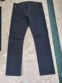Japanese Brand 45R Jean's, made in Japan. black color