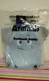 全新藍色小象背包