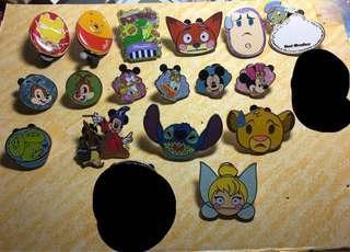 迪士尼襟章 徽章 Disney pin for trade