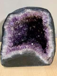 6.1kg 細紫水晶洞 (助招財聚氣 招福擋煞 人緣 生意緣 改善風水)
