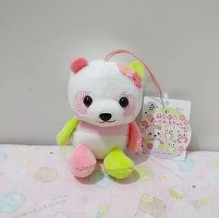 包平郵 Amuse熊貓公仔掛飾